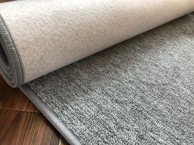 Schlingen Teppich Rubi grau 140 x 200 cm