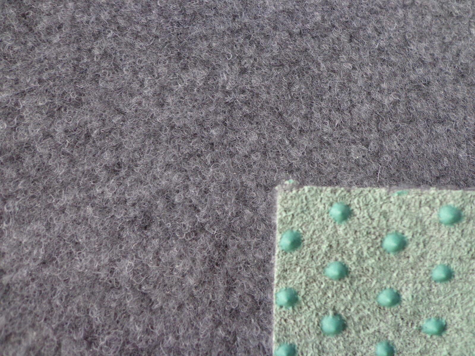 Kunstrasen 5€/m²) Fertigrasen Grau 200 cm breite ...